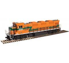 Atlas #10002691 HO NRE Genset II Locomotive with ESU Sound- Indiana Harbor Belt (Orange/Green) #2143
