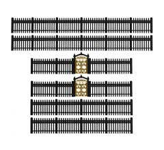 Lionel HO #2057140 Iron Fence - Black