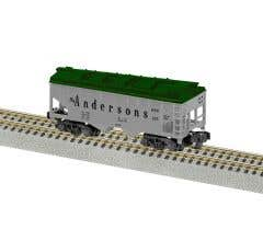 American Flyer 2219051 Andersons 2-Bay Covered Hopper #185