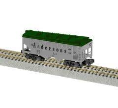 American Flyer 2219052 Andersons 2-Bay Covered Hopper #188