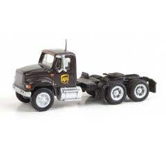 Walthers #949-11185 International 4900 Single-Axle Semi Tractor Only - UPS