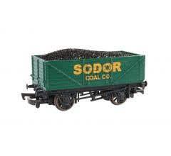Bachmann #77002 THOMAS & FRIENDS Sodor Coal Co. Wagon w/load