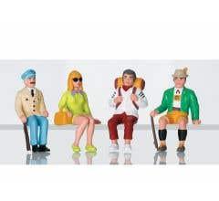 LGB #53007 Set of Figures- Tourists Sitting