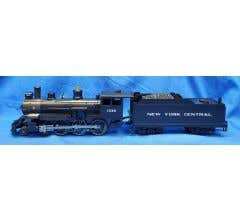 Williams #WIL1235 New York Central 4-6-0 Steam Engine #1235 With Whistle, Bell & Smoke