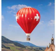 Faller #131004 Hot Air Balloon w/Swiss flag