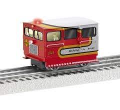 Lionel #2135030 Santa Fe TMCC Speeder