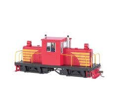 Bachmann #29204 Spectrum Whitcomb 50-Ton Center-Cab Diesel - DCC on board Sound Ready - Unlettered Red w/Yellow
