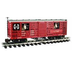 Bachmann #98707 Santa Fe w/Horses - Animated Stock Car