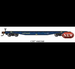 Bachmann #17352  52' FLAT CAR - CSX