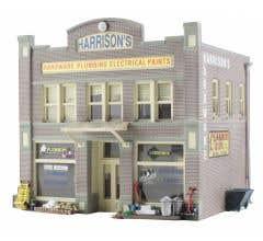 Woodland Scenics BR4921 Harrison's Hardware (Built-Up)