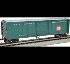 Bachmann #17904 50' Steel Reefer- Railway Express