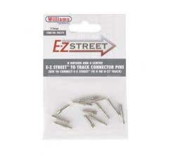 Williams #00272 E-Z Street To Track Connector Pins (8 outer & 4 center)