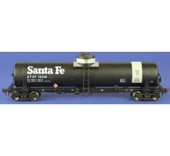 American Limited Models #1835 GATC Tank Car ATSF #101141 Gray band diesel fuel service with 1970s Santa Fe logo lettering