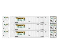 Athearn #17734 53' CIMC Container JB Hunt #1 (3)