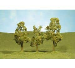 """Bachmann #32009 3"""" - 4"""" Sycamore Trees three pieces per pack"""