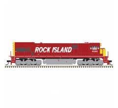 Atlas #10003576 U30C Rock Island #4588 w/DCC & ESU Sound