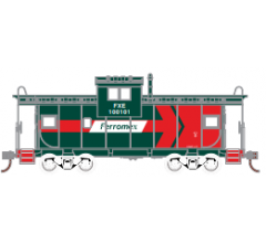 Athearn Roundhouse #1349 Wide Vision Caboose - Ferromex #100104