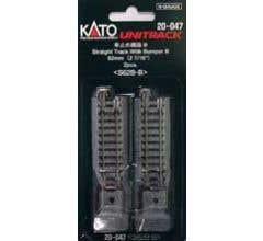 "Kato #20-047 62mm (2 7/16"") Bumper Type B [2 pcs]"
