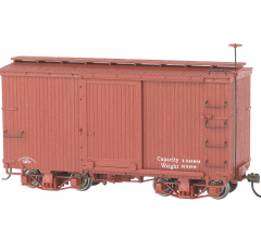 Bachmann #26501 18' Freight Car (2 per box) Painted Unlettered