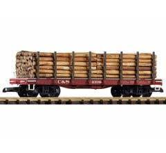 PIKO #38745 C&S Flatcar w/Log Load