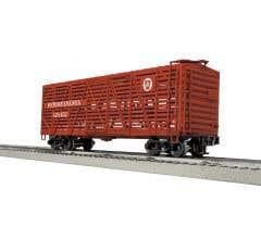 Lionel #3-17260 Stock Car -PRR- 6 Pack