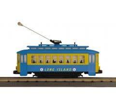 MTH #30-5206  Bump-n-Go Trolley - Long Island (Trainworld) #293