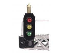 MTH #30-11009A O Scale Vertical Signal Block - (1) Pair of add-on signals for Cantilvered Bridge Signal