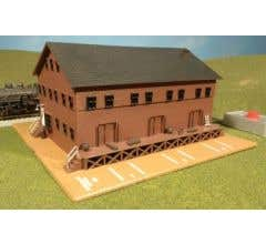 Bachmann #46902 Steam Whistle in Freight Station