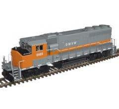 Atlas #10002718 GP40-2(W) Locomotive w/DCC & Sound - Dakota Missouri Valley & Western #9658