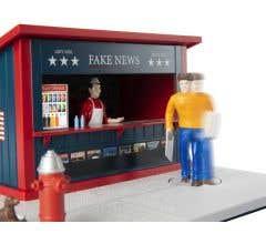 Lionel #2029240 Fake News Stand