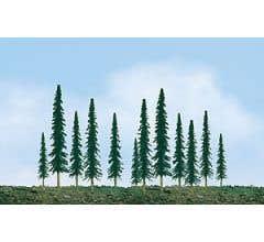 """JTT #92011 Conifer Tree Bulk Pack 4""""- 6"""" (24pcs)"""