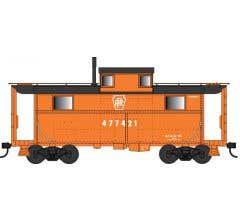Bowser #38086 Pennsylvania Railroad Focal Orange #477421 N5c Caboose
