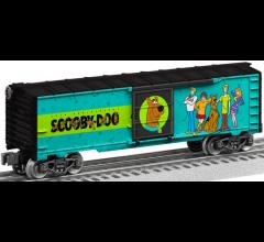 Lionel #1928590 Happy Birthday Scooby Doo Sound Box Car