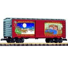 PIKO #38905  Christmas Boxcar Car 2021