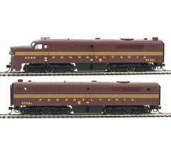 Walthers #910-10068 Alco PA - PB Set - Pennsylvania #5755A & #5758B