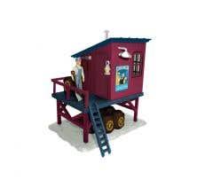 Lionel #2030150 Polar Express Barrel Shed