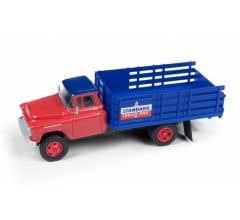 Classic Metal Works #30579 1955 Chevy Stakebed Truck (Standard)