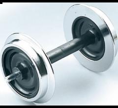 LGB #67419 Solid Wheel Set, Metal, 2 pieces