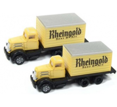 Classic Metal Works #50373 WC22 Reefer Truck Rhiengold Beer