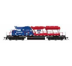 Broadway Limited #6798 EMD SD40-2 FGAR 7156 Paragon4 Sound/DC/DCC HO Florida Gulf & Atlantic Railroad