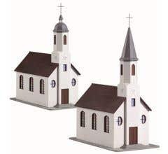 Model Power #785 St Matthews Church Built Up