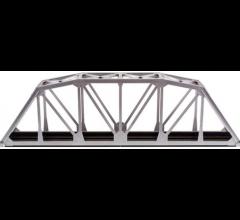 "Atlas 594 HO 18"" Through Truss Bridge Kit - Code 83 Silver"