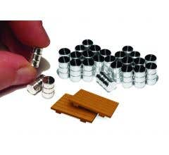 Bachmann #39109 Oil Drums (24pack)