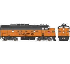 Bowser #24607 F9A w/DCC & Sound Milwaukee Road #125A