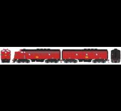 Athearn #G12424 F3 A/B PHII w/DCC & SND MKT/Freight#204A/#204B
