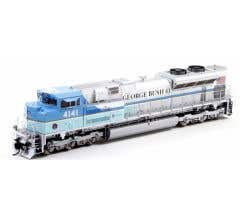 Athearn #G04141 HO SD70ACe With DCC & Sound UP/George HW Bush #4141