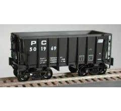 Bowser #41995 Penn Central #502258 G-39 70 Ton w/Crown Trucks