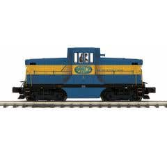 MTH #20-21116-1 Middletown & NJ GE 44 Ton Diesel Engine w/Proto-Sound 3.0 (Hi-Rail Wheels)
