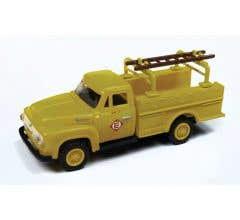 Classic Metal Works #30539 1954 Ford Hi-Rail Maintenance Truck - Erie-Lackawanna