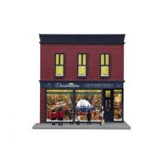 Lionel #2129090 Angela Trotta Thomas Christmastime Hobby Store
